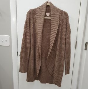 Mossimo Open Front Sweater